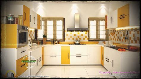 Kitchen Interior Design Kerala Simple Style Indian Picture