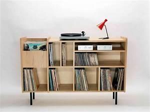 Meuble Platine Vinyle Vintage : 35 id es d co pour ranger des vinyles vinyles ranger et idee deco ~ Teatrodelosmanantiales.com Idées de Décoration