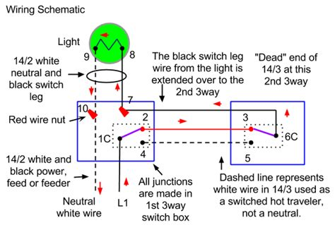 Electrical How Wire Three Way Switch With Two
