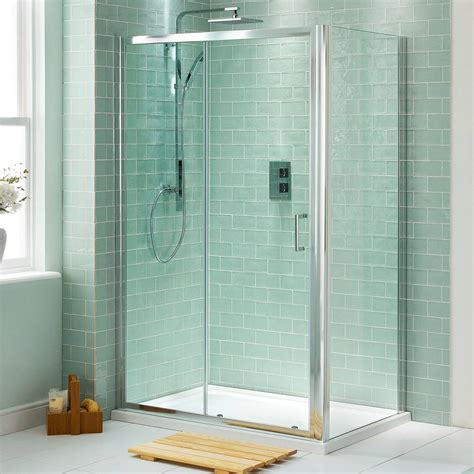 glass shower enclosure bath shower of the home