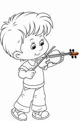 Coloring Pages Boy Sheets Sarah Sarahtitus Na Boys Titus Books Child Print Little Violinist Cartoon Disney Fun Soloring Artykuł sketch template