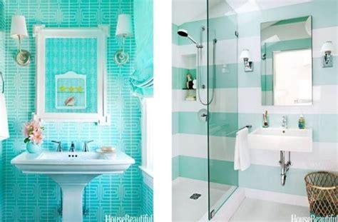 verde agua  refrescar ambientes deco bathroom