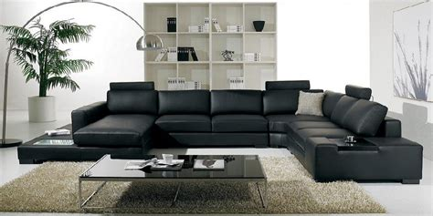 italian leather sectionals modern furniture italian leather living room sectional 2017