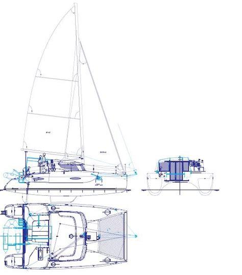 Catamaran Technical Drawing by 30 Best Catamaran Images On Pinterest Catamaran Boating