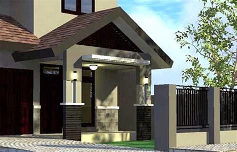 model teras rumah depan mewah sederhana minimalis terbaru