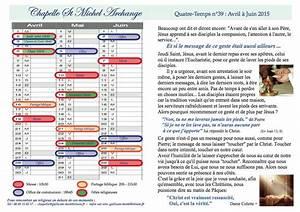 Les Quatre Temps Horaires : le quatre temps n 39 avril juin 2015 chapelle saint ~ Dailycaller-alerts.com Idées de Décoration