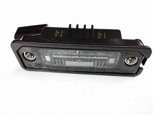 Volkswagen Eos License Plate Light Assembly  Rear  Lamps