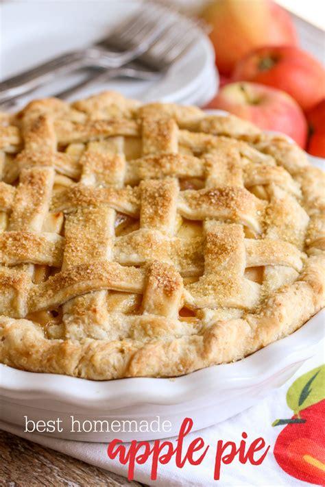 Best Homemade Apple Pie Recipe  Lil' Luna