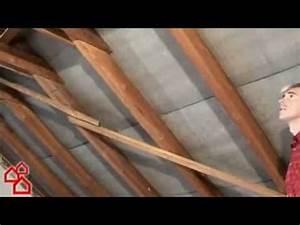 Rollladenkasten Dämmung Bauhaus : bauhaus tv d mmen eines dachstuhls youtube ~ Lizthompson.info Haus und Dekorationen