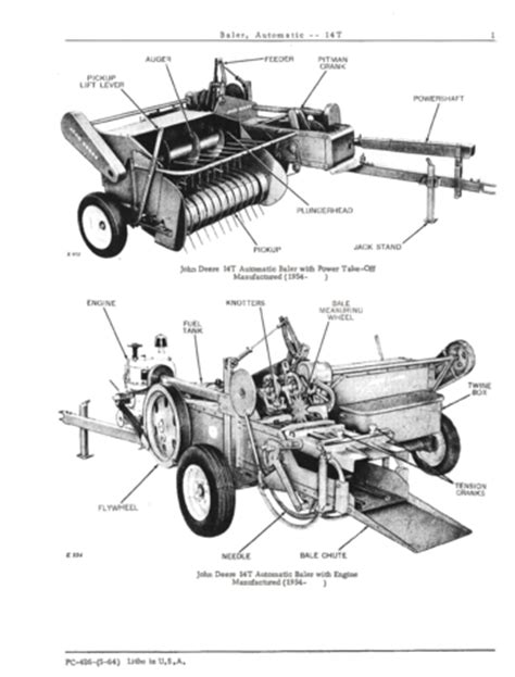 24t Square Baler Diagram by Baler Manuals