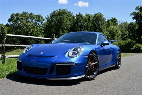 Dealer Inventory 2015 Porsche Gt3 Sapphire Blue Rennlist