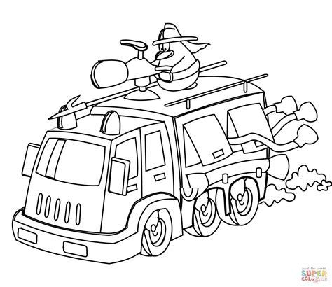 disegni da colorare camion dei pompieri 30 migliore camion pompieri da colorare e stare
