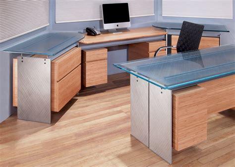 glass top office modern executive glass top desk metal and glass desk