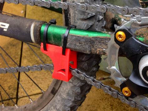 Bike Chain Guide / Tensioner by RossHaddow - Thingiverse