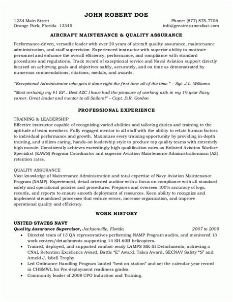 Federal Government Resume Exle by Federal Resume Template Template Business