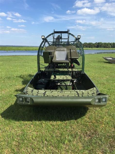 Airboat Grass Rake by New Hull Grass Rake Design By Gto Airboats Southern