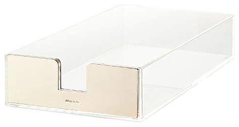 kate spade desk accessories kate spade acrylic letter tray contemporary desk