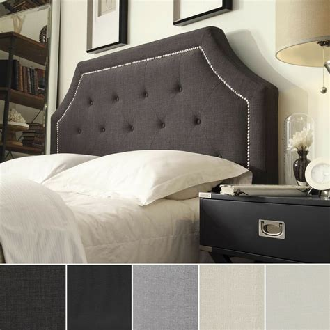 King Size Headboards For Cheap by Grace Button Tufted Arched Bridge King Sized Headboard By