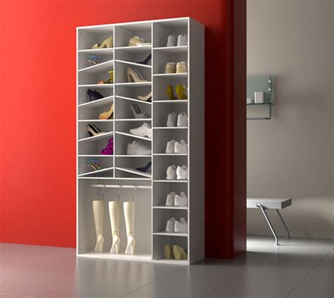 accessoires cuisine enfants armoire à chaussure yvonne blanc blanc brillant