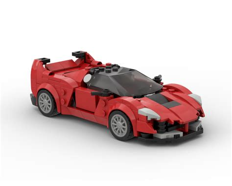 The ferrari fxx k car is a really satisfying build, and once complete it does stand up to scrutiny when compared to the image of the vehicle on back of the box. LEGO MOC Ferrari FXX v2 by legotuner33 | Rebrickable ...