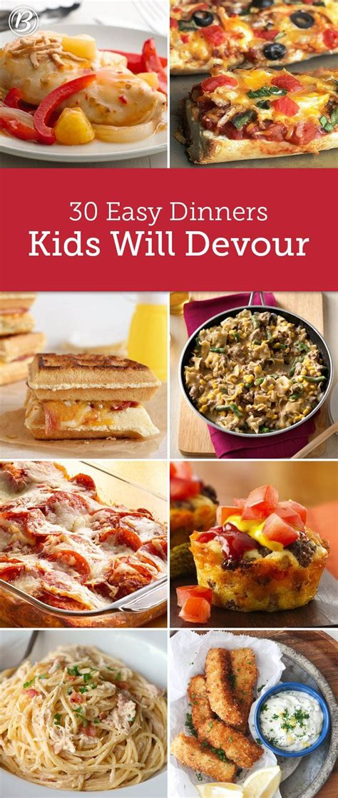 One of our favorites is. Kids' Most Requested Dinners | Recettes de cuisine ...