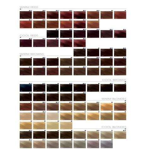 goldwell color goldwell hair color chart anexa