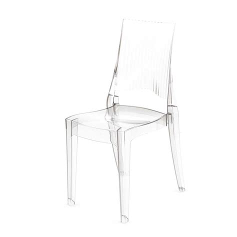 chaise transparentes chaises design transparentes