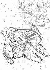 Wars Coloring Star Pages Wan Obi Falcon Spaceship Kenobi Ship Printable Simple Millenium Print Millennium Drawing Technical Space Getcolorings Pdf sketch template