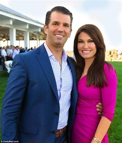 trump jr kimberly guilfoyle don donald dating kim son newsom gavin girlfriend eric villency fox married together golf daily vanessa