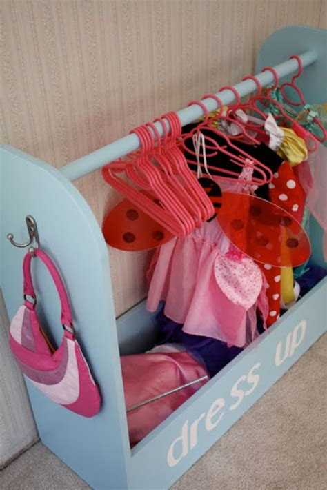 toddler dress up closet 30 diy organizing ideas for rooms