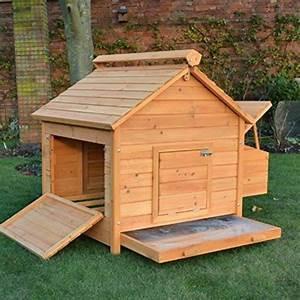Cabane Pour Poule : poulailler bois 4 poules chocopoulette ~ Melissatoandfro.com Idées de Décoration