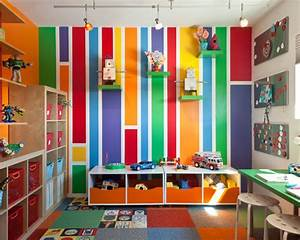 Colors toy Storage Kids Room Beautiful Homes Design