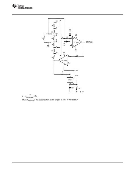 Caracteristicas tecnicas de TL082 - Datasheet