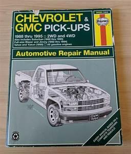 Repair Manual Chevrolet Gmc Pick-ups 1988