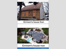 Eminems House Then And Now