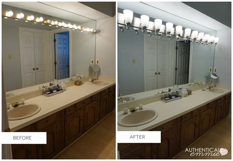 How To Remove A Bathroom Light Fixture by Replacing A Light Fixture On A Vanity Mirror