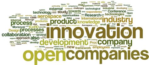 open innovation practices  aerospace industry