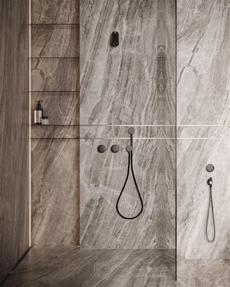 Modern minimalist bathroom in 2020 Restroom design