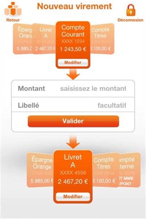 plafond virement ing direct ing direct l application android banques en ligne mobile