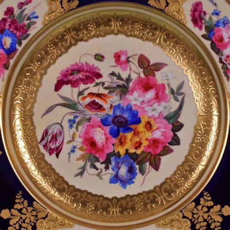 fine chamblerlains worcester cabinet plate  andrew dando antique pottery porcelain