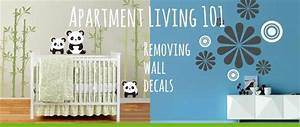 how to remove wall decals apartmentscom With how to removing wall decals
