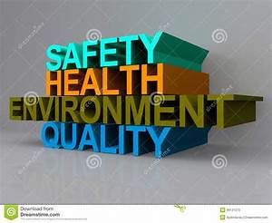 Health And Safety Sign Stock Illustration  Illustration Of Colors