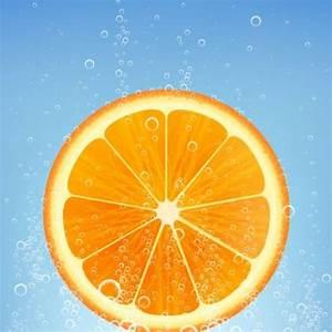 Orange juice lime vector background - Vector Background ...