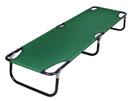 Portable Folding Cot Camping Military Hiking Medical Guest Light Wood Table Glass And Chrome Dining Large Kitchen Kids Chairs End Tables At Walmart Picnic Bench Combo Texas Holdem Ping Pong Top For Pool