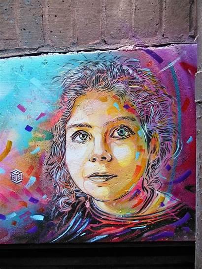 London C215 Street Stencil Graffiti Pieces Artist