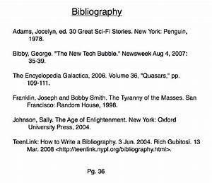 Bibliography (Classic Short Stories)