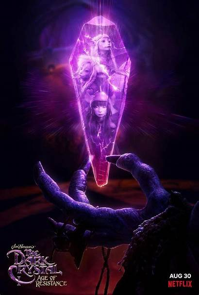 Crystal Dark Resistance Age Poster Artstation Brownlow