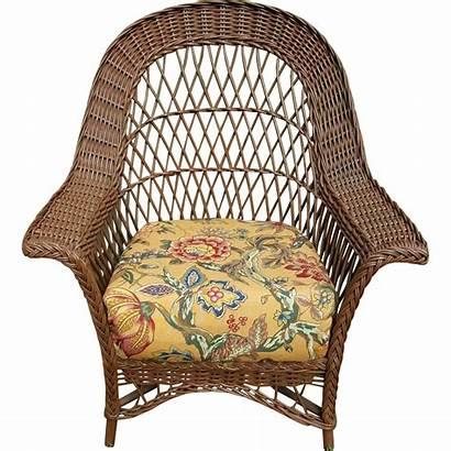 Wicker Chair Bar Harbor 1920 Circa Dovetail