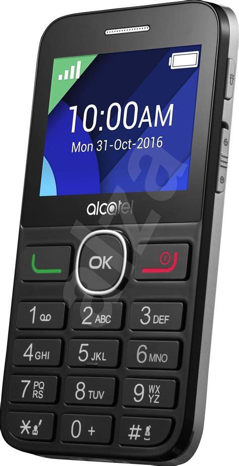 alcatel onetouch  blacksilver mobile phone