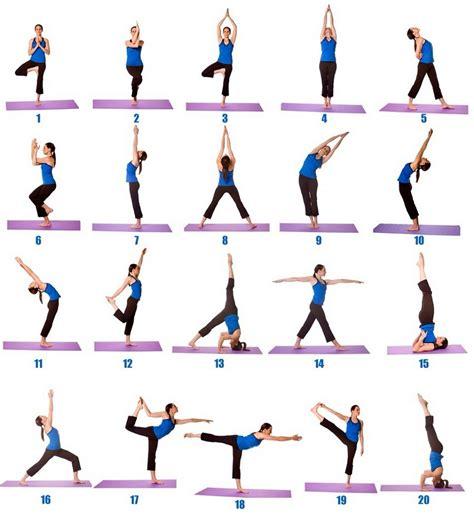 yoga  beginners learning printable
